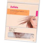 Solida Filets pour cheveux invisible foncé, Par paquet 2 pièces