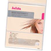 Solida Filet pour chignon tendance avec perles clair, Par paquet 1 pièce