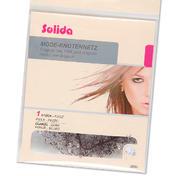 Solida Filet pour chignon tendance avec perles foncé, Par paquet 1 pièce
