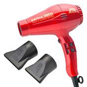 Parlux 3800 Eco Vriendelijke Ionische & Keramische Editie Red