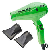 Parlux 3800 Eco Friendly Ionic & Ceramic Edition vert