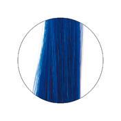 hair4long Mèches en cheveux naturels Couleur intense bleu