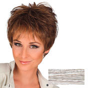 Gisela Mayer Perruque en cheveux synthétiques Meli Blanc-Gris