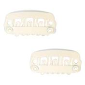 Solida Peignes-clips Petit peigne-clip, 2,3 cm x 1,1 cm, Beige