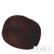 Solida Boudin à chignon 11 x 9 cm foncé