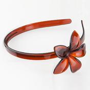 H+B Italia Haarband bloem Havana