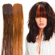 Balmain Color Flash Tape Extensions 25 cm Dark Blond (Level 6) & Chocolate Brown