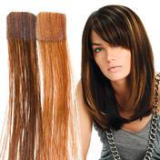 Balmain Kleurenflitsband verlengstukken 40 cm Honing Blond & Walnoot