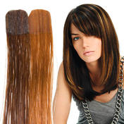 Balmain Color Flash Tape Extensions 40 cm Dark Blond (Level 6) & Chocolate Brown
