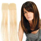 Balmain Kleurenflitsband verlengstukken 40 cm Extra Licht Blond (Niveau 10)