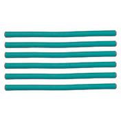 Efalock Bigoudis flexibles verts, Ø 8 mm, Par paquet 6 pièces