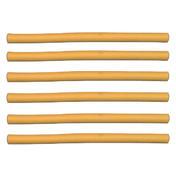 Efalock Bigoudis flexibles jaunes, Ø 10 mm, Par paquet 6 pièces