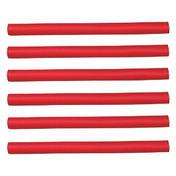 Efalock Bigoudis flexibles rouges, Ø 12 mm, Par paquet 6 pièces