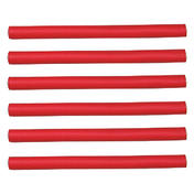Efalock Flex oproller Rood, Ø 12 mm, Per verpakking 6 stuks