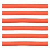 Efalock Bigoudis flexibles oranges, Ø 17 mm, Par paquet 6 pièces