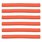 Efalock Flex oproller Oranje, Ø 17 mm, Per verpakking 6 stuks