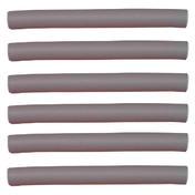 Efalock Bigoudis flexibles gris, Ø 19 mm, Par paquet 6 pièces