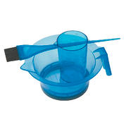 Sibel Set d'accessoires pour coloration bleu