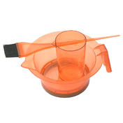 Sibel Set d'accessoires pour coloration orange