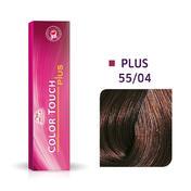 Wella Color Touch Plus 55/04 Châtain clair intense naturel cuivré