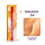 Wella Color Touch Sunlights /04 Natur Rot