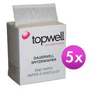 Topwell Topwell perm kantpapier 5 stuk