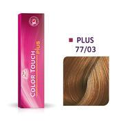 Wella Color Touch Plus 77/03 Medium Blond Intensief Natuurlijk Goud