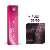 Wella Color Touch Plus 55/06 Lichtbruin Intensief Natuurlijk Violet