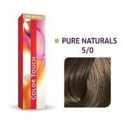 Wella Color Touch Pure Naturals 5/0 Lichtbruin