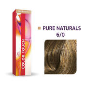 Wella Color Touch Pure Naturals 6/0 Donker blond