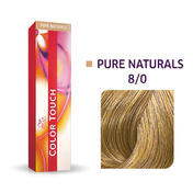 Wella Color Touch Pure Naturals 8/0 Licht blond