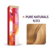 Wella Color Touch Pure Naturals 9/03 licht blond natuur goud
