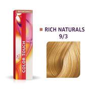 Wella Color Touch Rijke natuurproducten 9/3 Licht blond goud