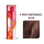 Wella Color Touch Rijke natuurproducten 6/35 Donker Blond Goud Mahonie