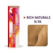 Wella Color Touch Rijke natuurproducten 9/36 Licht Blond Goud Violet