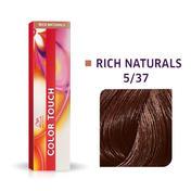 Wella Color Touch Rijke natuurproducten 5/37 Lichtbruin Goudbruin