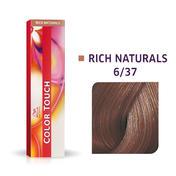 Wella Color Touch Rijke natuurproducten 6/37 Donker Blond Goud Bruin
