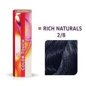 Wella Color Touch Rijke natuurproducten 2/8 Blauw zwart
