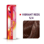 Wella Color Touch Levendig Rood 5/4 lichtbruin rood