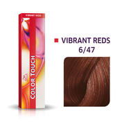 Wella Color Touch Levendig Rood 6/47 Donker Blond Rood Bruin