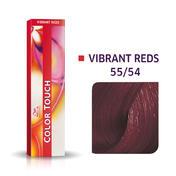 Wella Color Touch Levendig Rood 55/54 lichtbruin intensief mahonierood