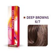 Wella Kleur Aanraking Diep Bruin 6/7 Donker Blond Bruin