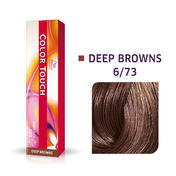 Wella Kleur Aanraking Diep Bruin 6/73 Donker Blond Bruin Goud