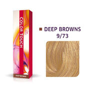 Wella Kleur Aanraking Diep Bruin 9/73 Licht Blond Bruin Goud