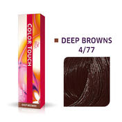 Wella Kleur Aanraking Diep Bruin 4/77 Medium Bruin Intensief