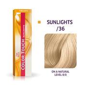 Wella Kleur Touch Sunlights /36 goud paars