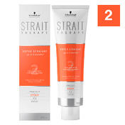 Schwarzkopf Strait Styling Therapy Strait Cream 2 - voor gekleurd en poreus haar, 300 ml