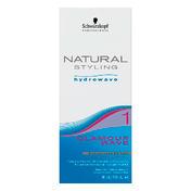 Schwarzkopf Natural Styling Hydrowave Kit Glamour Wave 1 - Pour cheveux normaux à légèrement poreux