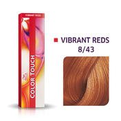 Wella Color Touch Levendig Rood 8/43 Licht Blond Rood Goud