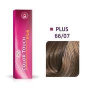 Wella Color Touch Plus 66/07 Donker Blond Intensief Natuurlijk Bruin